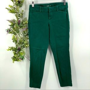 Old Navy | Green Pixie Ankle Pants, Sz 2